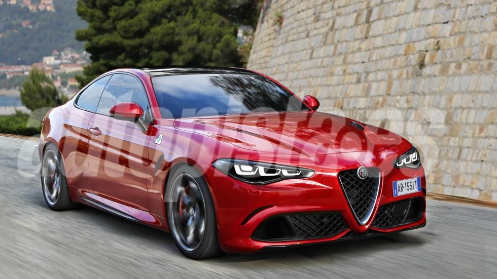 Alfa Romeo GTV 2021: nuevos detalles y más fotos del próximo Giulia coupé