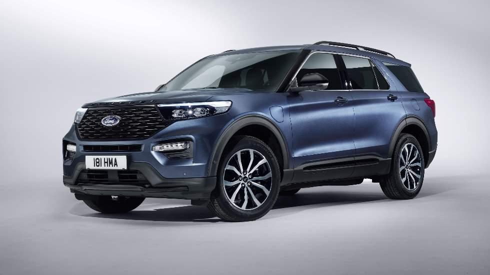 Ford Explorer Híbrido Enchufable: el nuevo SUV, a la venta en Europa en 2019
