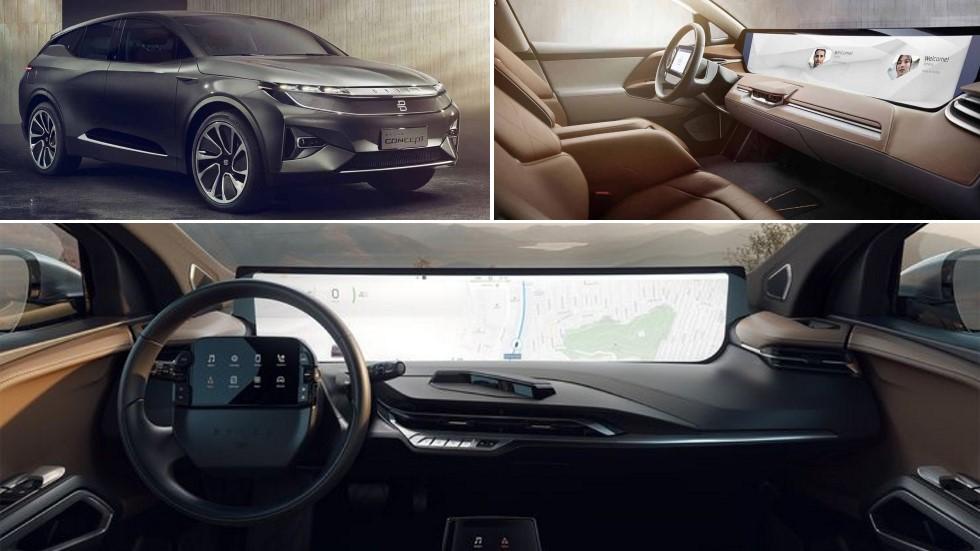 Byton M-Byte 2019: el SUV eléctrico que revolucionará el interior de los coches