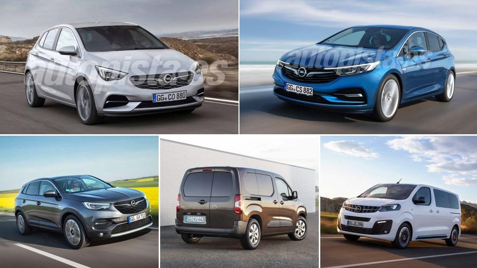 Todos los nuevos Opel para 2019: Astra, Corsa, Grandland X, Zafira…