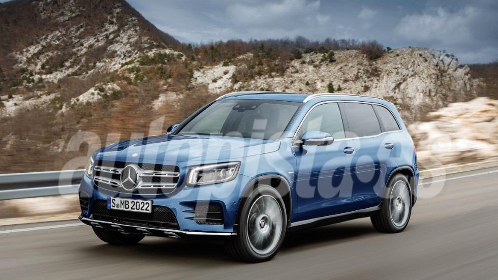 Mercedes GLB 2019: todos los secretos del nuevo SUV que se anticipa este mes