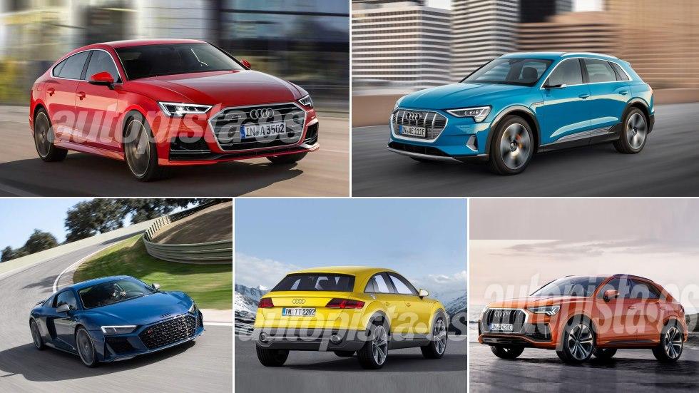 Todos los nuevos Audi para 2019: A3, Q3 Sportback, e-tron, A4, Q7…