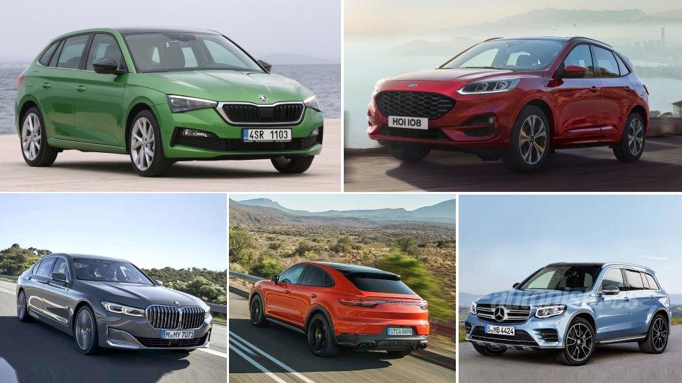 Las 20 novedades de coches que se presentan este mes: Kuga, Scala, GLB, Yaris, HR-V…