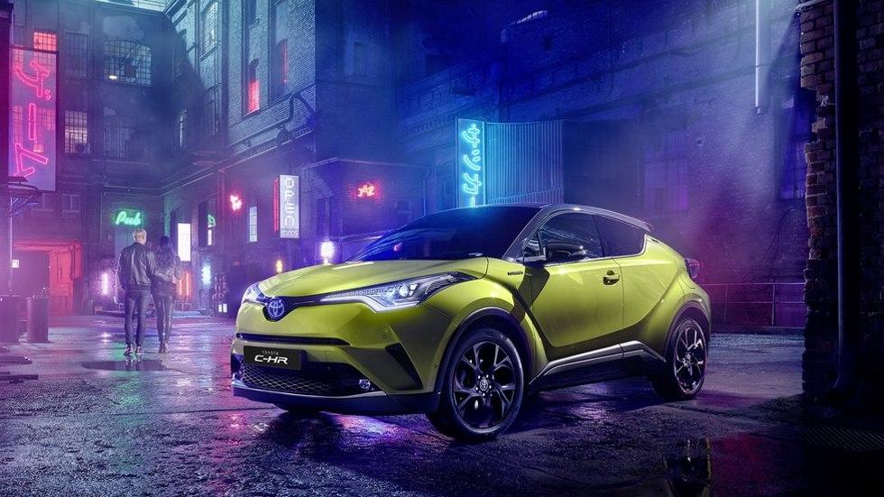 Toyota C-HR Neon Lime: el SUV híbrido estrena nueva versión
