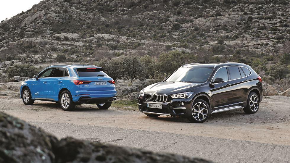 Audi Q3  35 TFSI vs BMW X1 18i: ¿qué SUV compacto de gasolina es mejor?