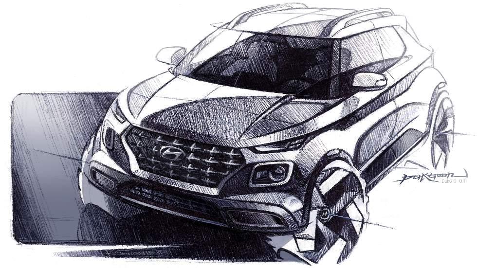 Hyundai Venue: primeras imágenes oficiales del nuevo SUV