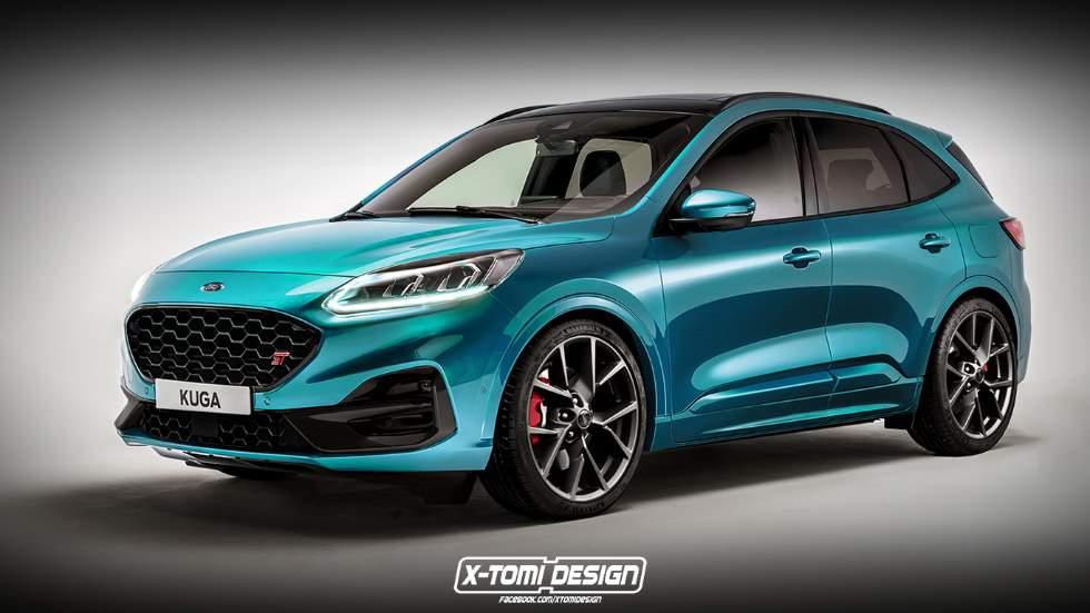 Ford Kuga ST 2020: así será el nuevo SUV en versión deportiva