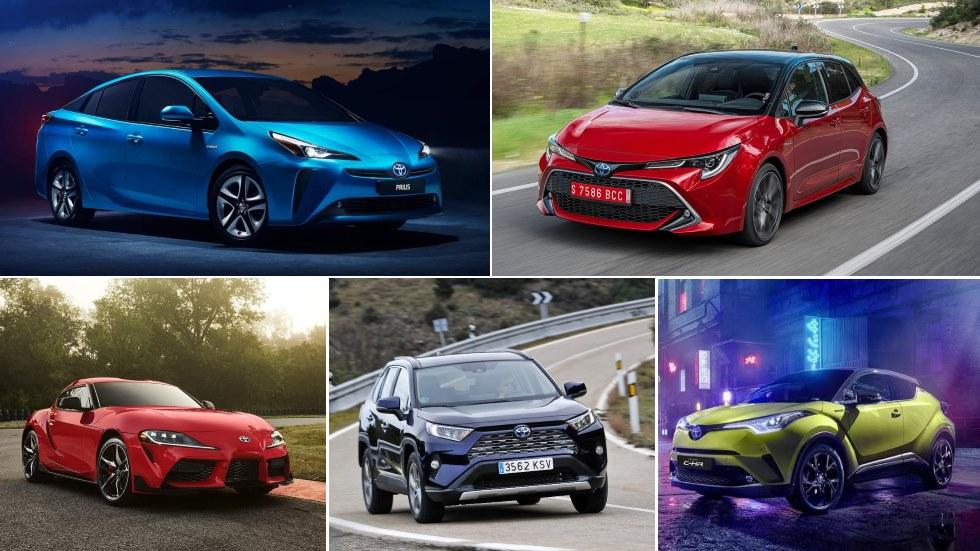 Todos los nuevos Toyota para 2019: Corolla, Prius, Supra, RAV4, C-HR…