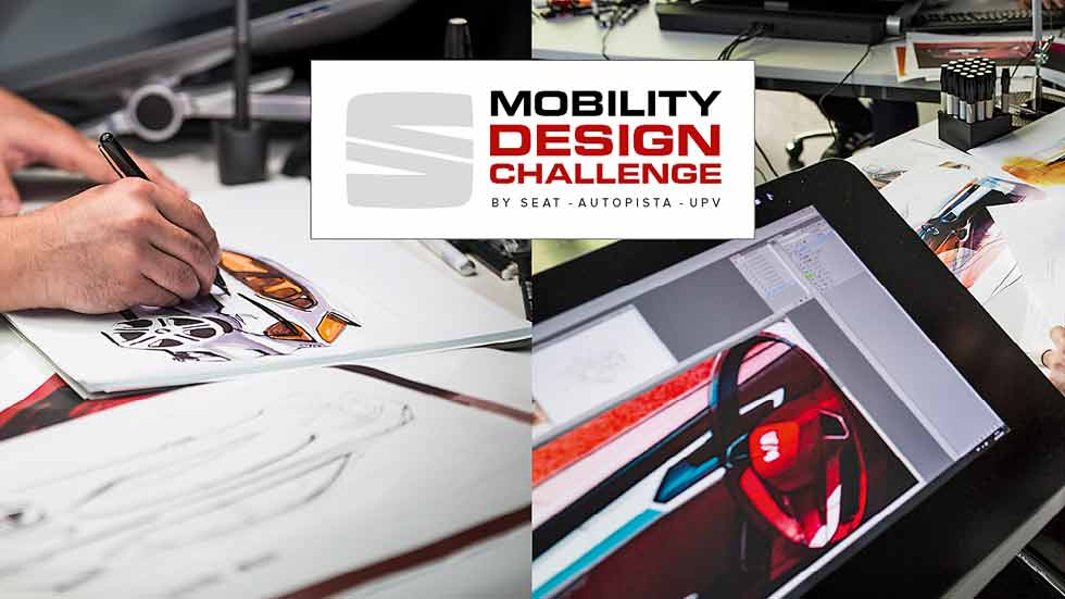 II Mobility Design Challenge by SEAT, AUTOPISTA y la UPV: ¡participa ya!