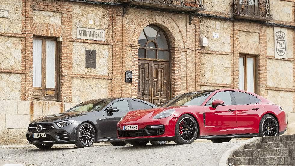 Mercedes-AMG CLS 53 vs Porsche Panamera GTS: en busca de la mejor berlina deportiva