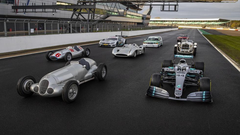 """Mercedes celebra sus 125 años en el """"Motorsport"""""""