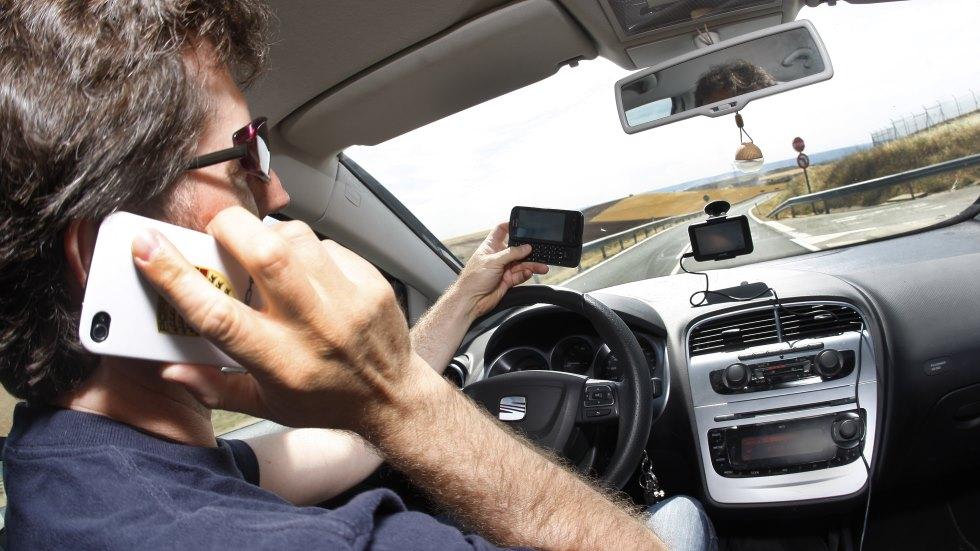 La Guardia Civil analizará tu móvil si estás implicado en un accidente de tráfico