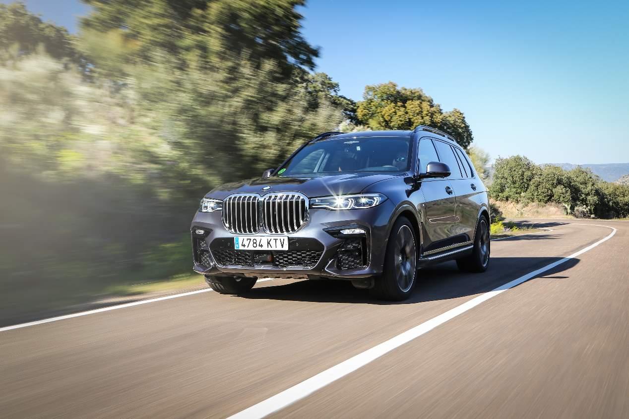 BMW X7 2019: primera prueba del nuevo SUV de 7 plazas