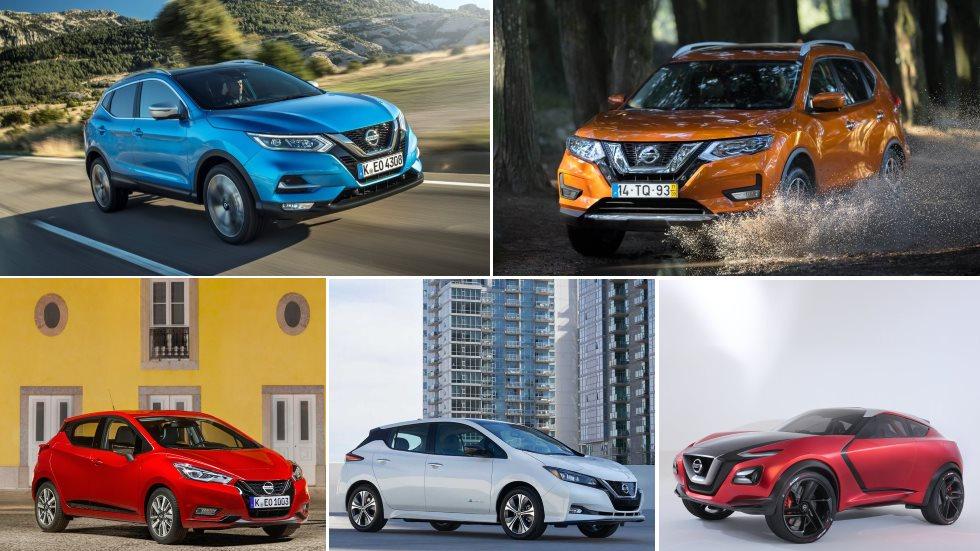 Todos los nuevos Nissan para 2019: Qashqai, Juke, X-Trail, Micra…
