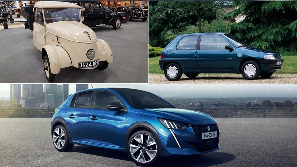 Todos los coches eléctricos de Peugeot: del VLV al nuevo e-208