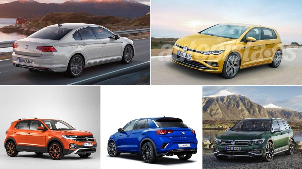 Todos los nuevos Volkswagen para 2019: Golf, Passat, T-Cross, T-Roc R…