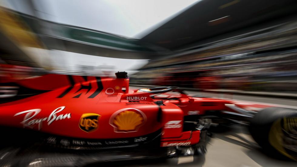 GP de China de F1 (FP1): Sebastian Vettel, el más rápido