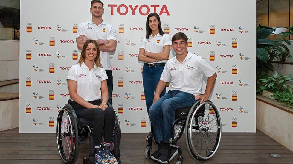 Toyota España presenta a sus embajadores para los Juegos Olímpicos de 2020