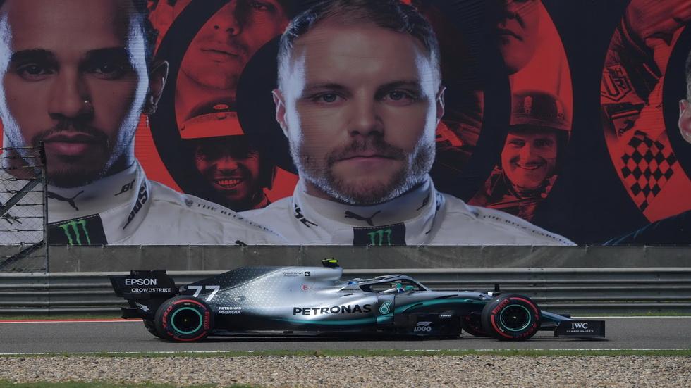 GP de China de F1 (FP3): el Mercedes de Bottas otra vez el más rápido