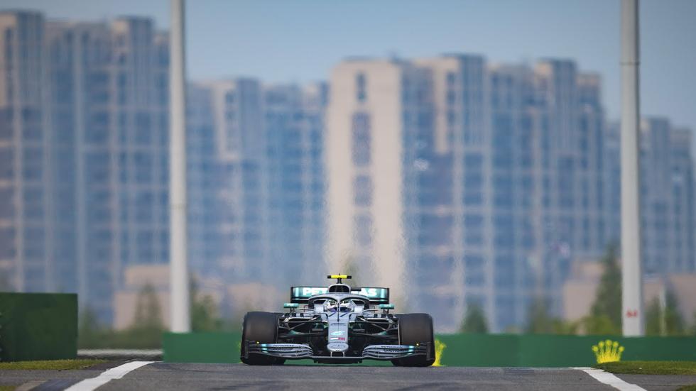 GP de China de F1 (Q): el mejor Bottas marcó la pole en Shanghai
