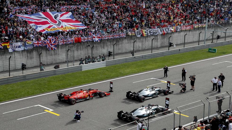 GP de China de F1: así queda la parrilla de salida