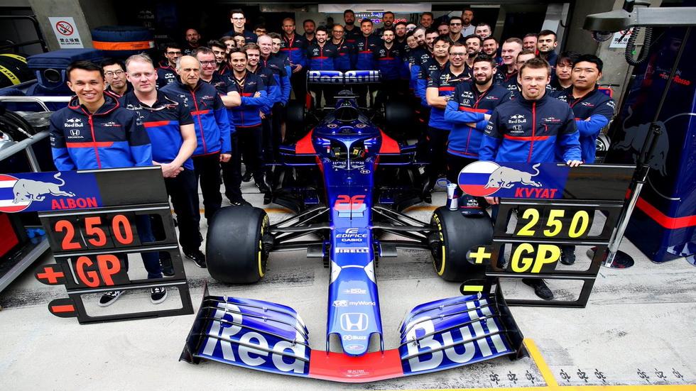 GP de China de F1: Toro Rosso cumple hoy su Gran Premio número 250