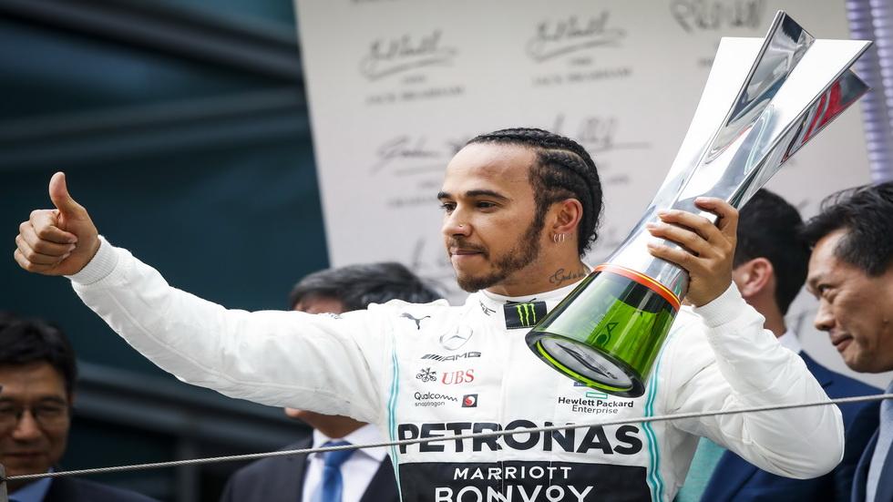 GP de China de F1: Hamilton gana la carrera número 1000 de F1