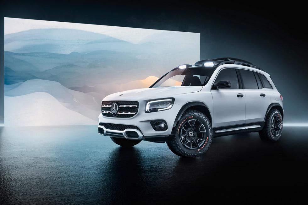 Mercedes GLB Concept 2019: así es el nuevo SUV de 7 plazas
