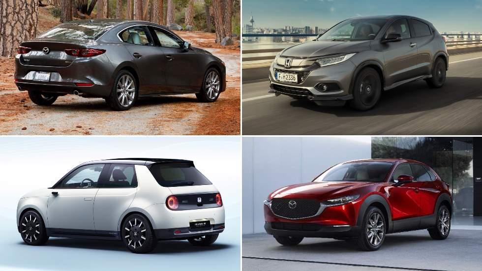 Todo lo nuevo de Honda y Mazda en 2019: HR-V Sport, Urban, Mazda3 Sedán, CX-30...