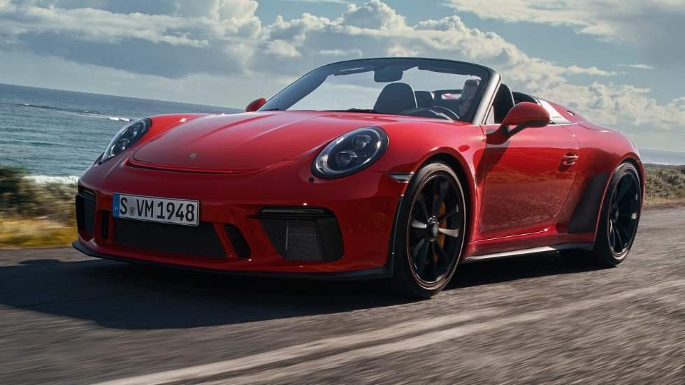 Porsche 911 Speedster 2019: para puristas y con 502 CV