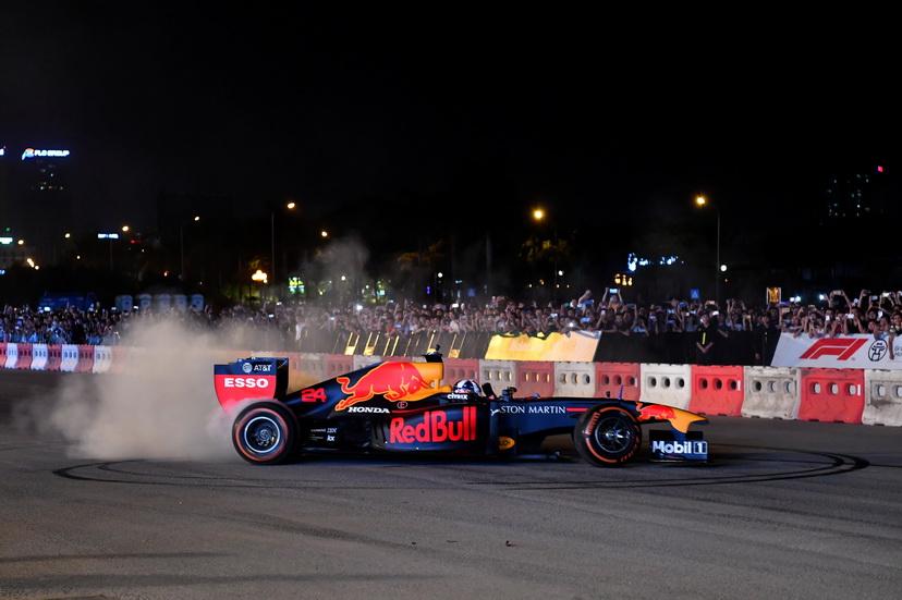 Red Bull en Vietnam con los RB7