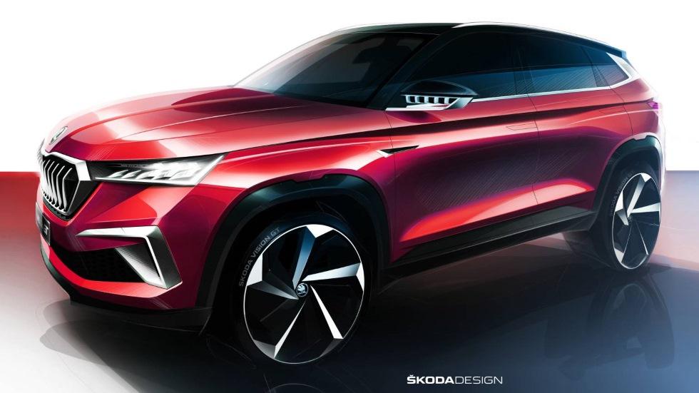 Skoda Vision GT: el próximo SUV deportivo 100% eléctrico