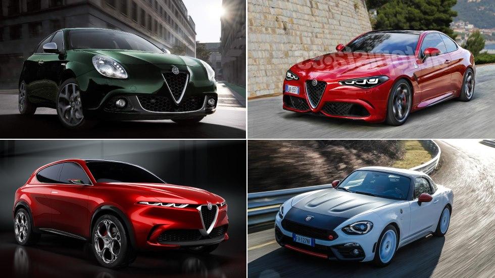Todos los Abarth, Alfa Romeo y Fiat para 2019 y 2020: Giulietta, Stelvio, Tonale…