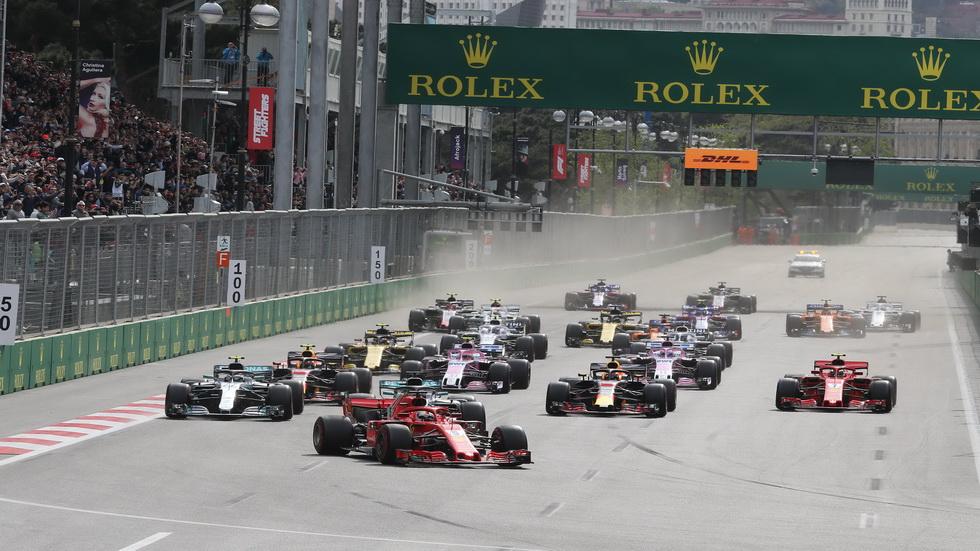 GP de Azerbaiyán de F1: estos son los horarios del fin de semana
