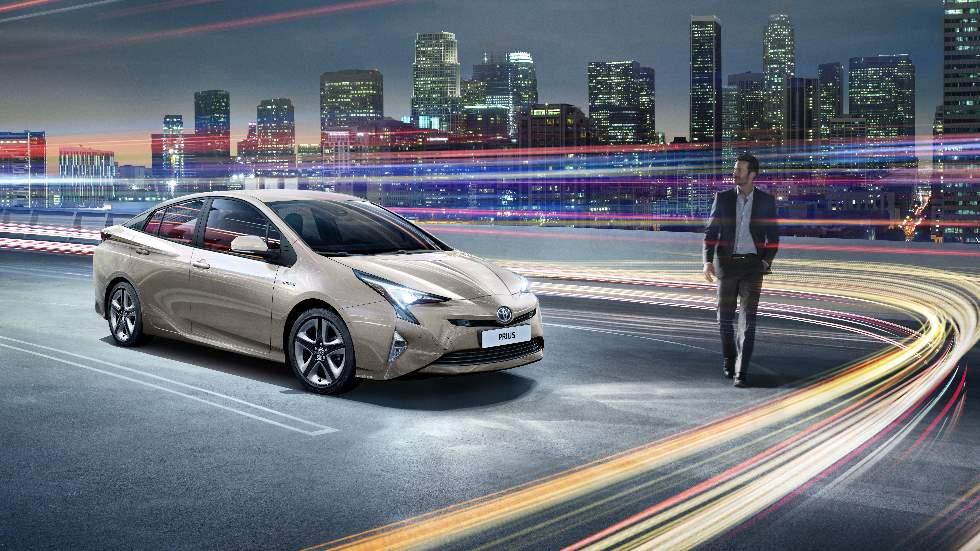 Los coches híbridos de Toyota son muy eléctricos