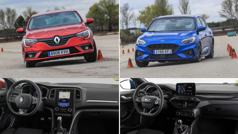 Renault Mégane 1.33 TCe vs Ford Focus 1.0 Ecoboost: ¿qué compacto de gasolina es mejor?