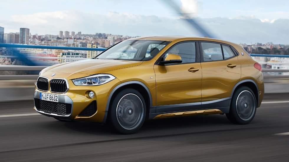 BMW X2 2019: gama y precios del pequeño SUV deportivo