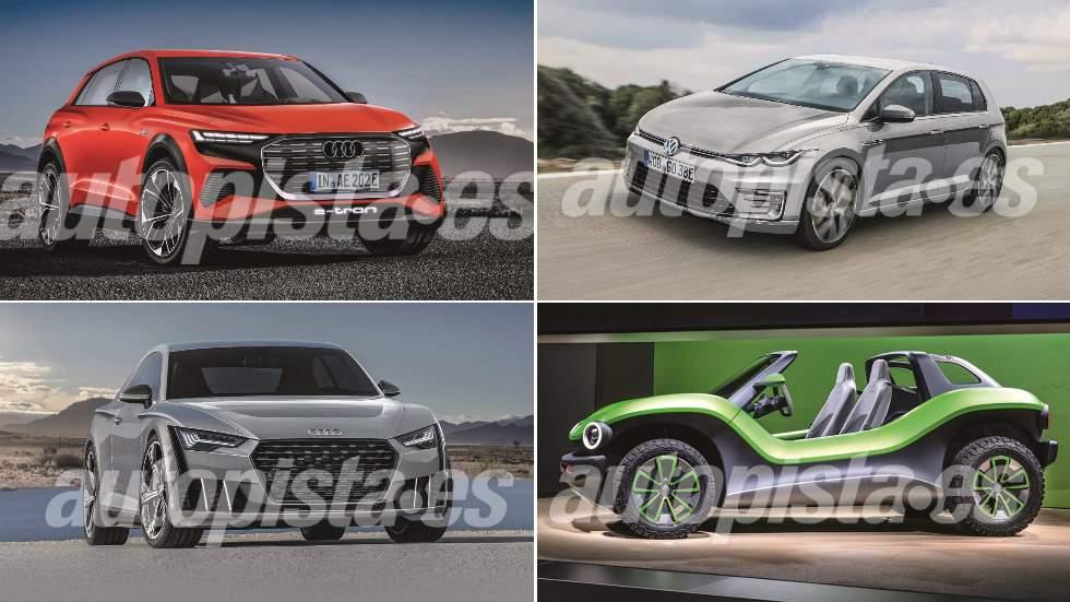 Todo lo nuevo de VW y Audi hasta 2021: Golf, Passat, ID., A3, A4, quattro…