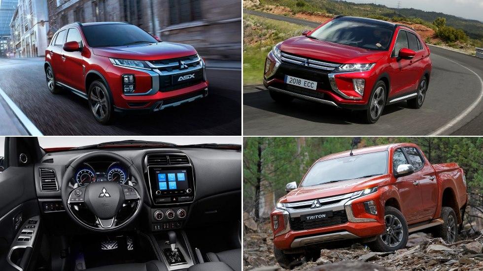 Todos los Mitsubishi que llegan en 2019: ASX, Eclipse Cross y L200