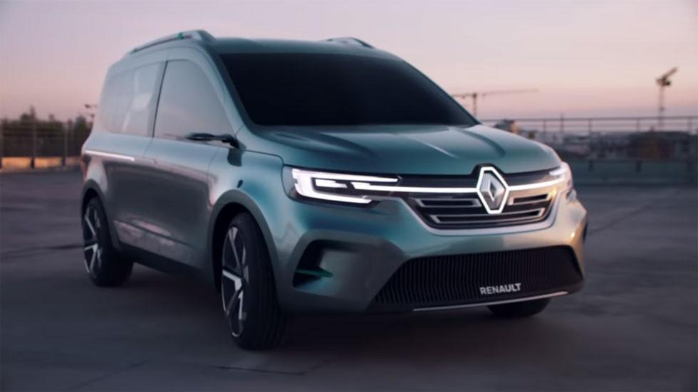 Renault Kangoo ZE 2020: así será el nuevo Kangoo eléctrico