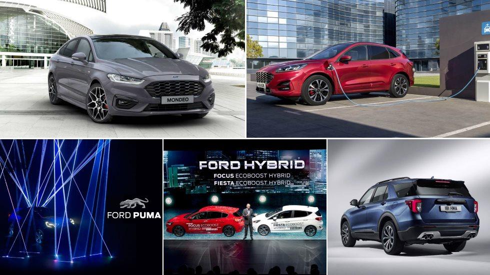 Todos los nuevos coches eléctricos de Ford: Kuga, Explorer, Puma, Focus, Fiesta, Mondeo…