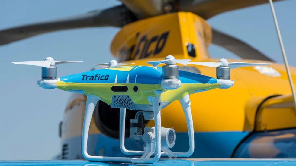 Así funcionan los drones de la DGT, en VIDEO