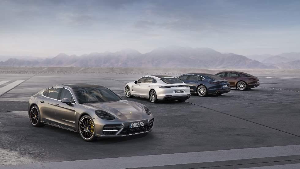 El Porsche Panamera cumple 10 años: fotos y datos de la gran berlina deportiva