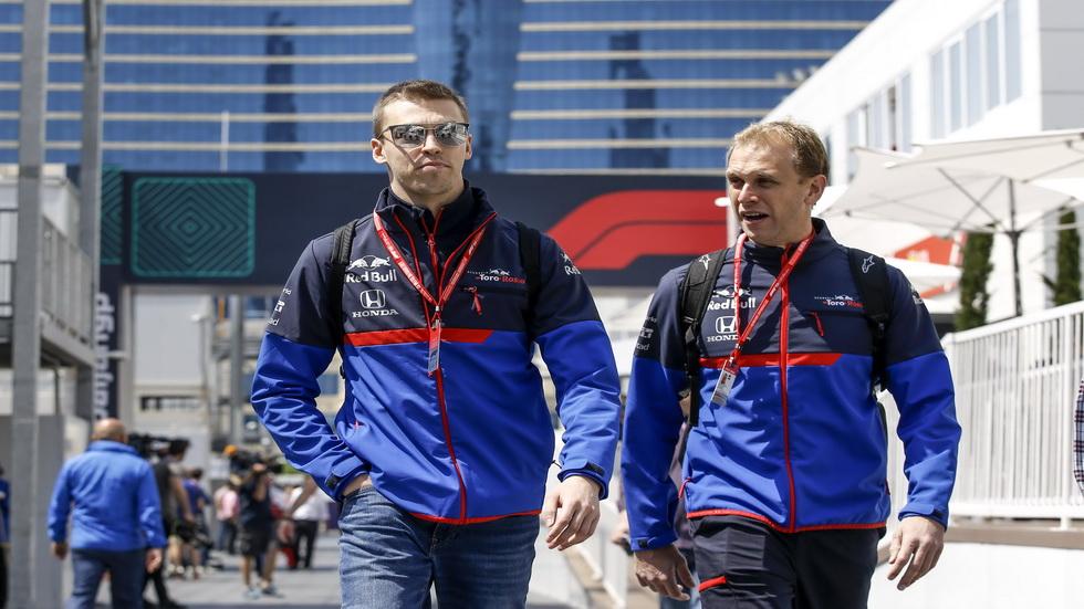 GP de Azerbaiyán de F1: ¡feliz cumpleaños, Daniil Kvyat!