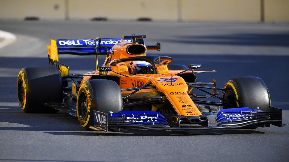 GP de Azerbaiyán de F1: Sainz se clasifica séptimo el primer día