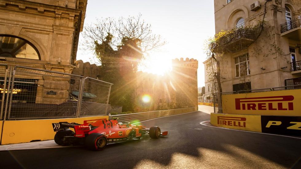 GP de Azerbaiyán de F1 (FP3): superioridad Ferrari y una zona media muy igualada