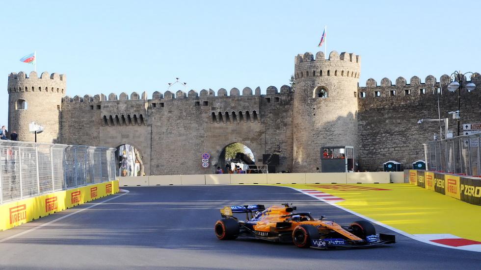 GP de Azerbaiyán de F1 (Q): Sainz muy cabreado tras la calificación