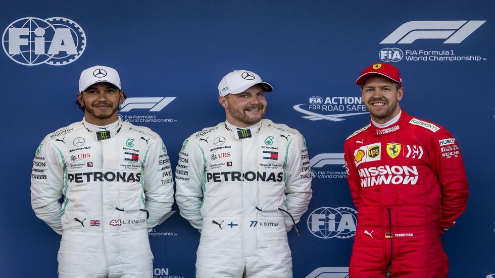GP de Azerbaiyán de F1: así queda la parrilla de salida