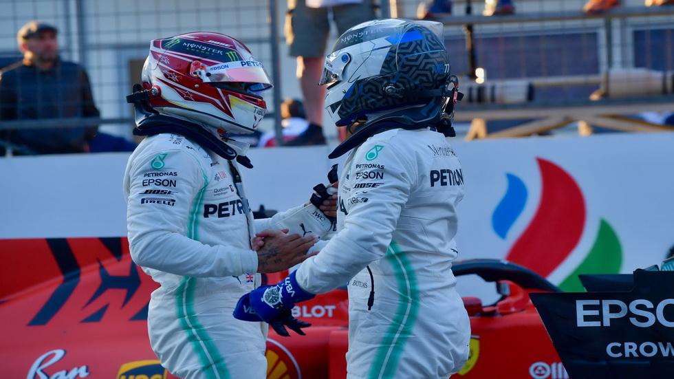 GP de Azerbaiyán de F1: Mercedes, cuatro de cuatro