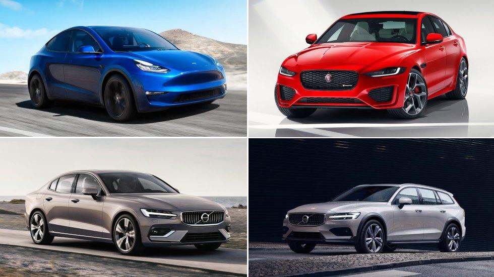 Todos los Jaguar, Lexus, Tesla y Volvo para 2019: XE, RX, Model Y, S60…
